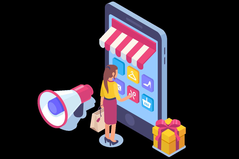 ada ecommerce illustration