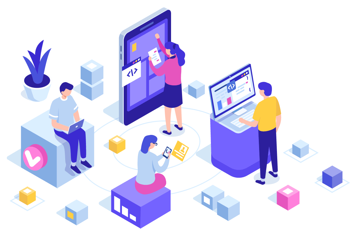 ada web development illustration
