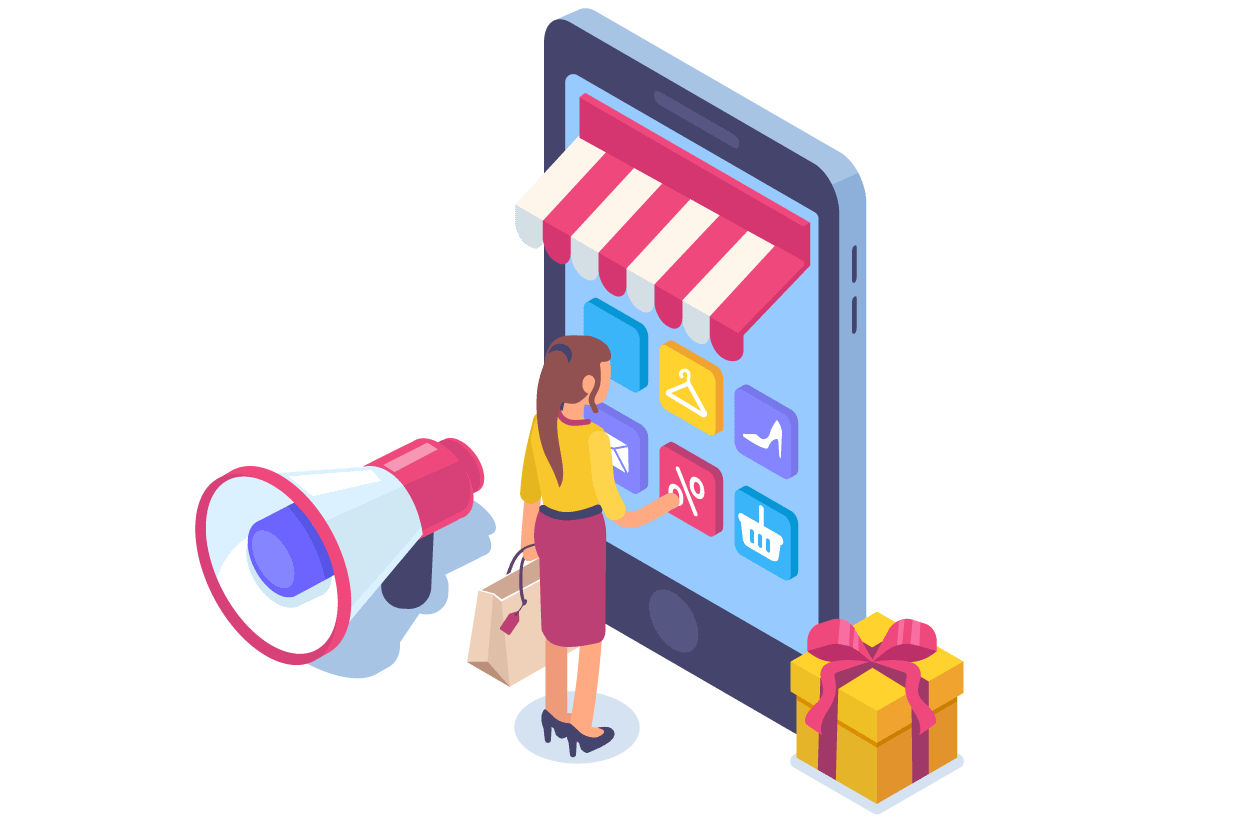 ada ecommerce illustration